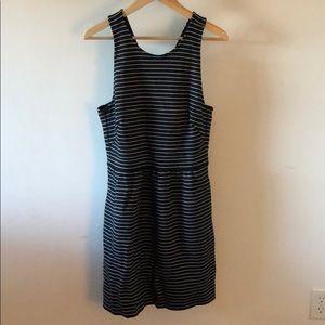 NWT Madewell Striped A Line Dress